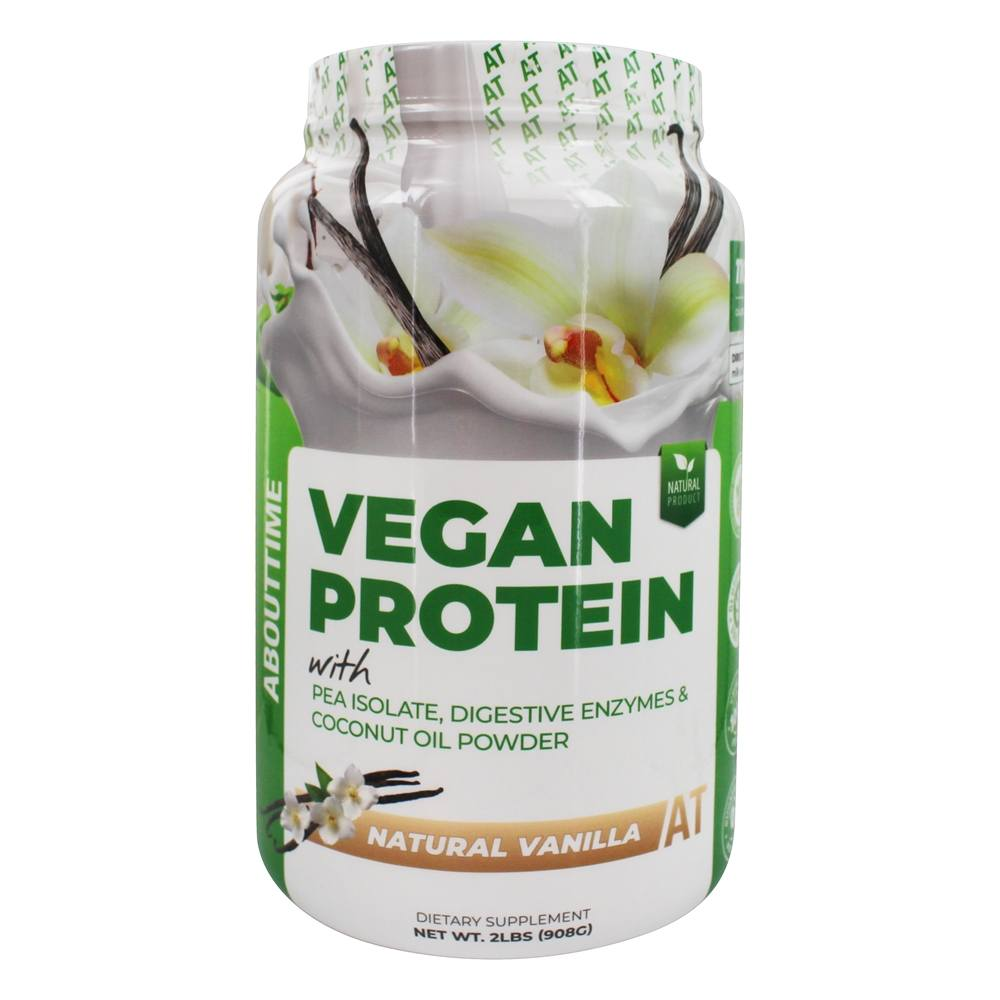 About Time - Ve Vegan Protein Vanilla - 2 lbs.