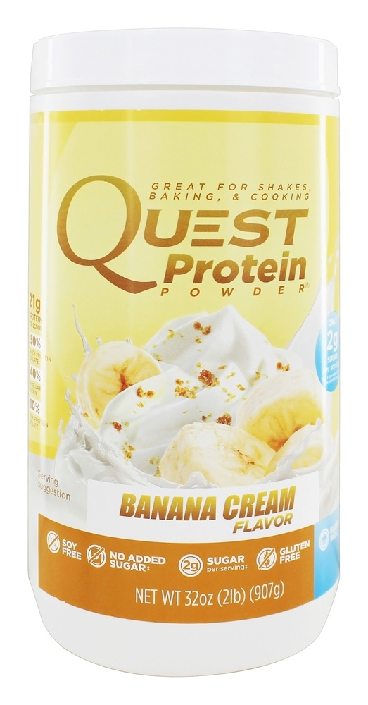 Quest Nutrition - Protein Powder Banana Cream - 2 lbs.