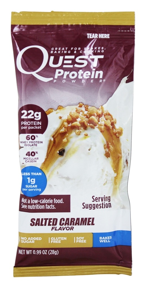 Quest Nutrition - Protein Powder Salted Caramel - 1 oz.