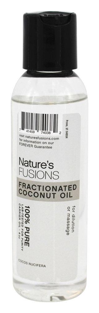 Nature's Fusions - Fractionated Coconut Oil - 4 oz.