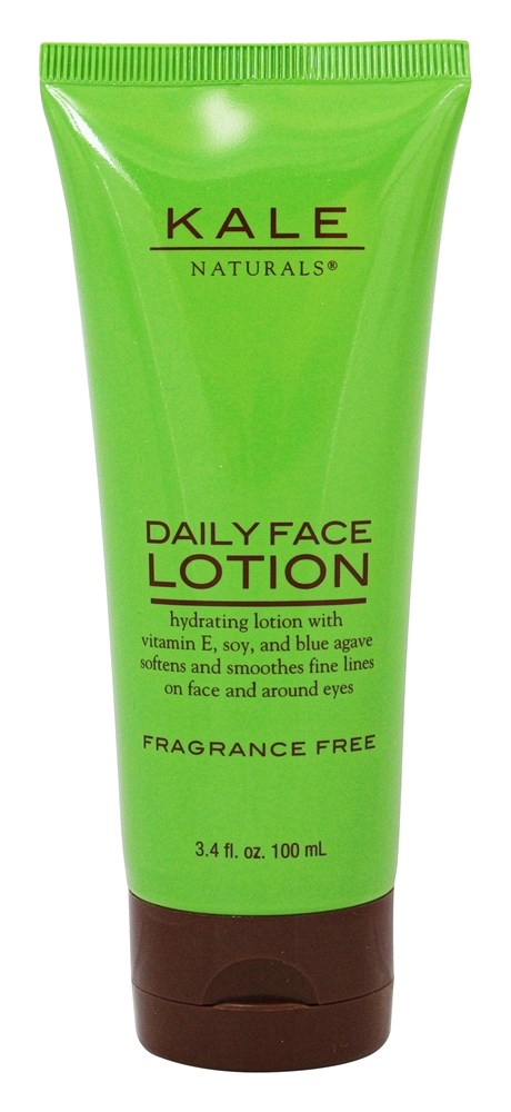 Kale Naturals - Daily Face Lotion Fragrance Free - 3.4 oz.