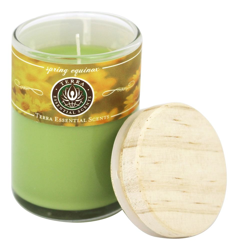 Terra Essential Scents - Seasonal Soy Candles Spring Equinox - 2.5 oz.