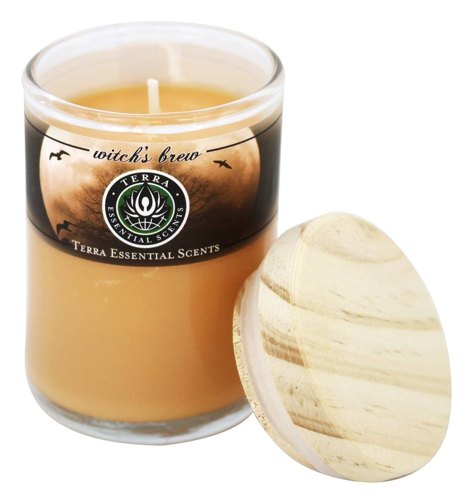 Terra Essential Scents - Seasonal Soy Candles Witches Brew - 2.5 oz.