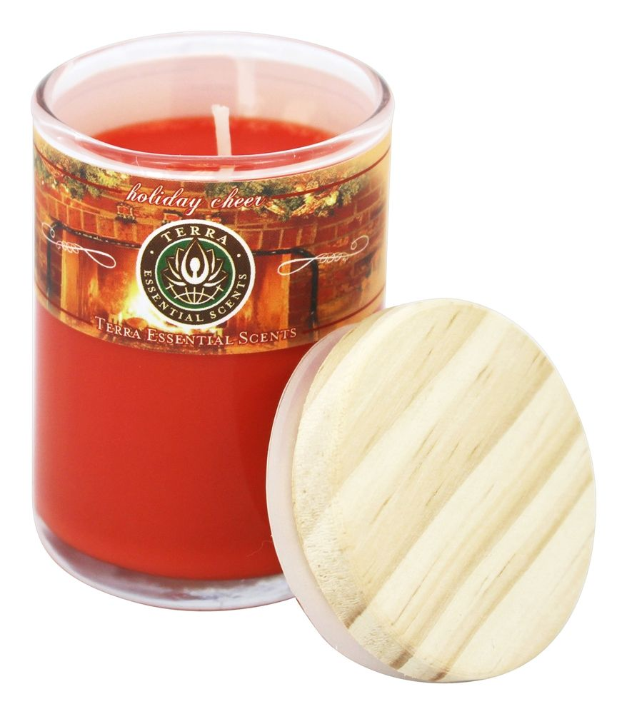 Terra Essential Scents - Seasonal Soy Candles Holiday Cheer - 2.5 oz.