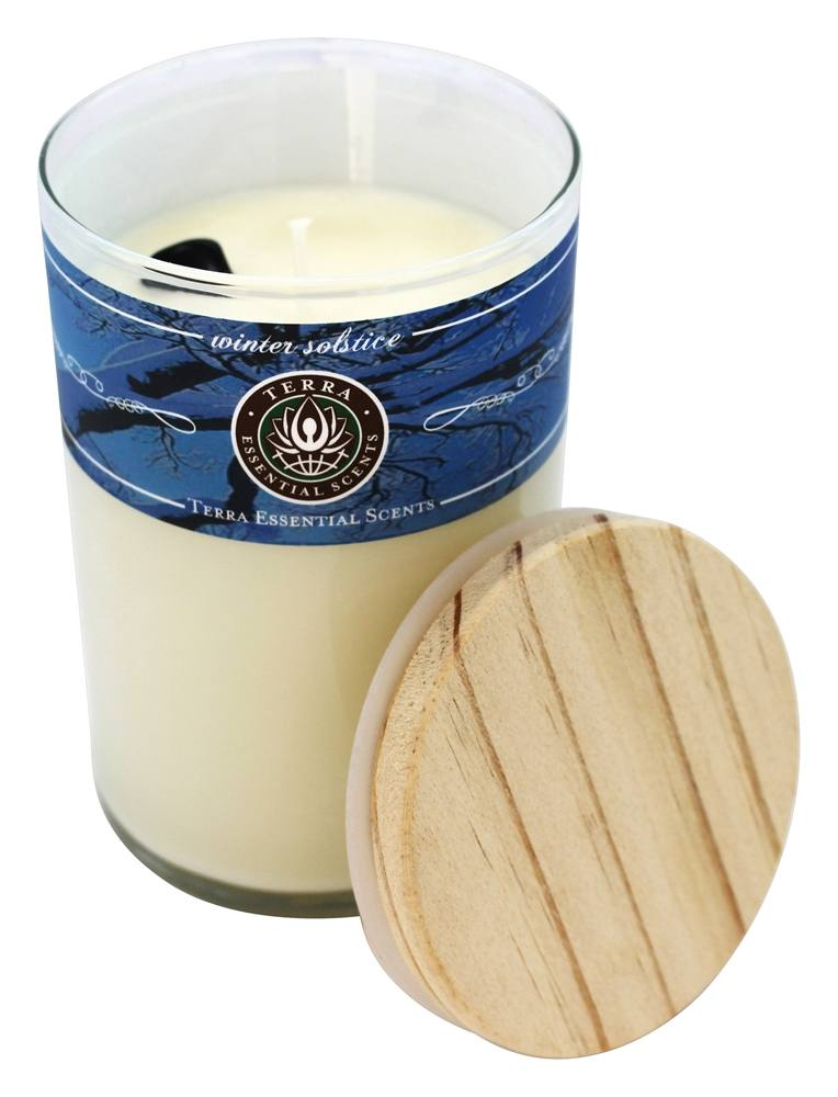 Terra Essential Scents - Seasonal Soy Candle Winter Solstice - 12 oz.