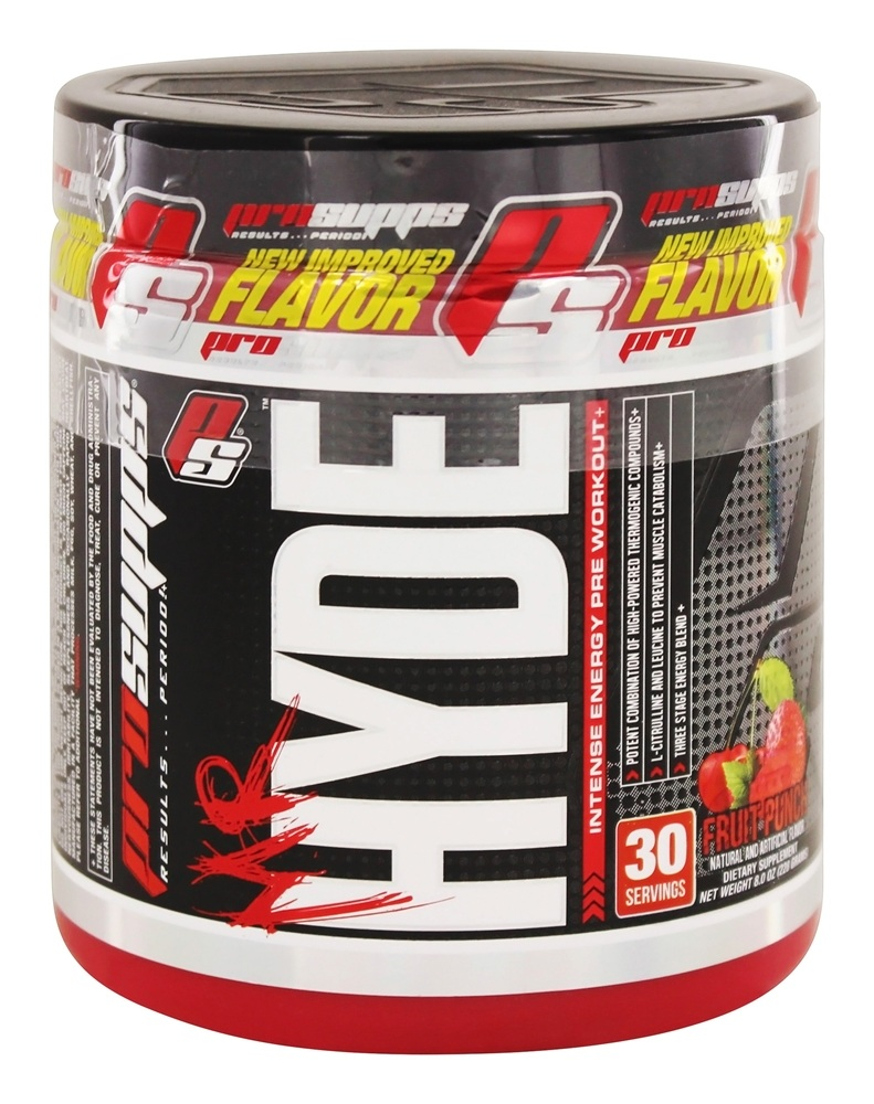 Pro Supps - Mr. Hyde Intense Energy Pre Workout+ Fruit Punch 30 Servings - 7.9 oz.
