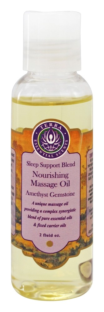 Terra Essential Scents - Massage Oil Sleep Support Blend - 2 oz.
