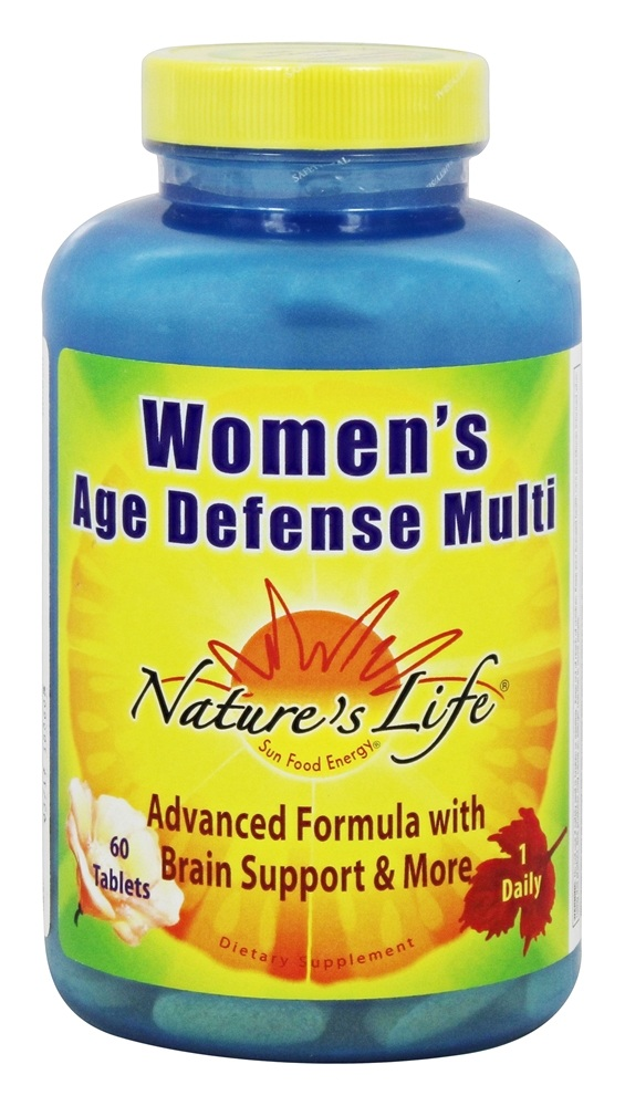 Nature's Life - Women's Age Defense Multi - 60 Tablets