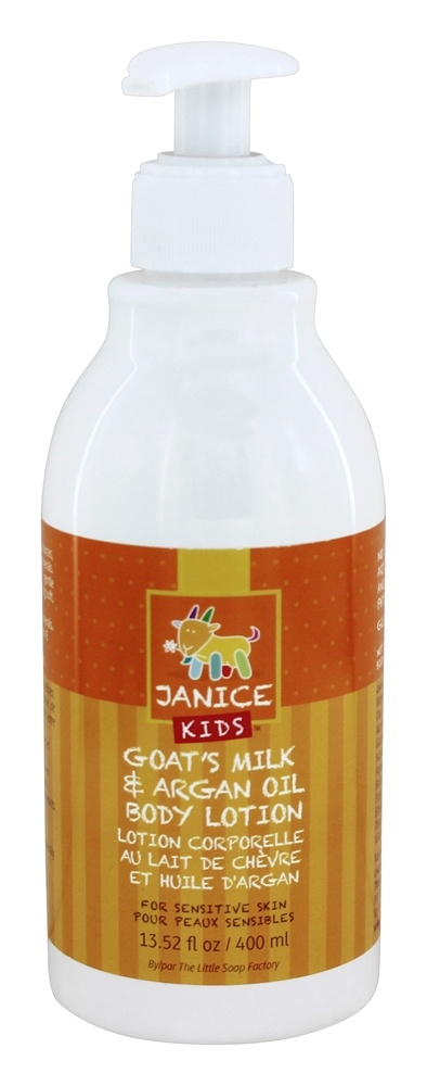 Janice Skincare - Kids Goat's Milk & Argan Oil Body Lotion - 13.52 oz.