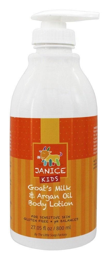 Janice Skincare - Kids Goat's Milk & Argan Oil Body Lotion - 27.05 oz.