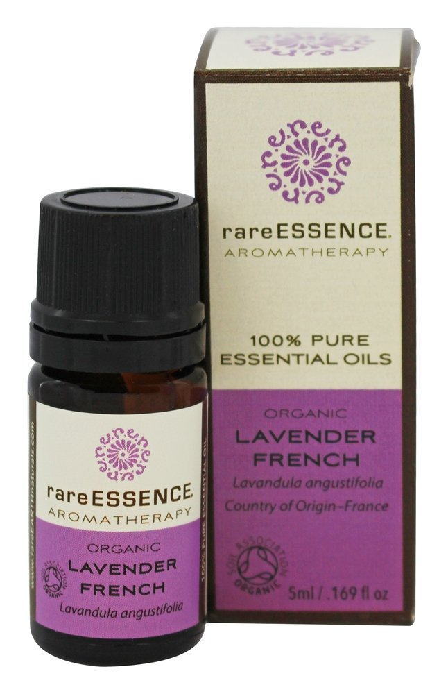 RareEssence - Aromatherapy 100% Pure Essential Oils Organic Lavender French - 5 ml.