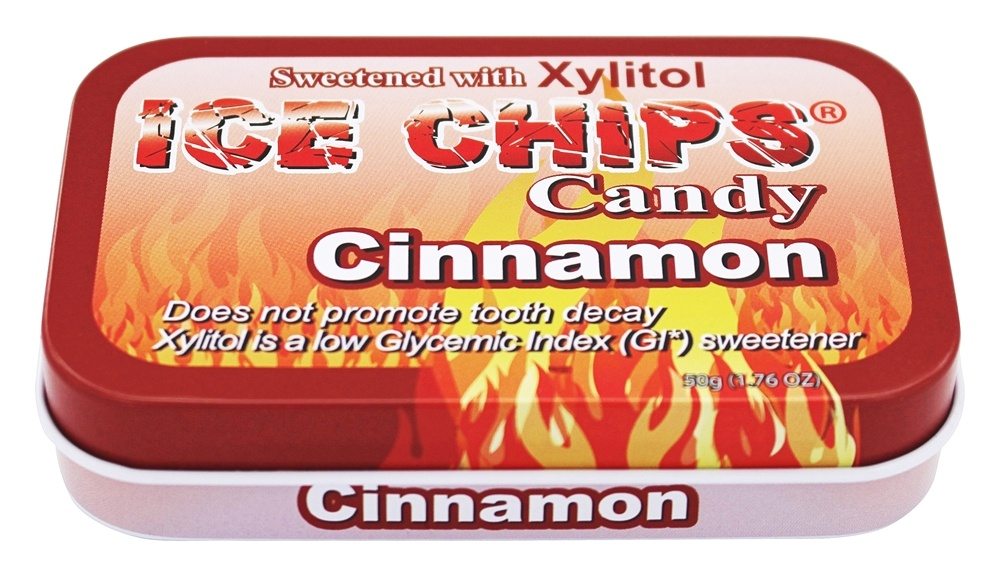 Ice Chips - Xylitol Mints Cinnamon - 1.76 oz.