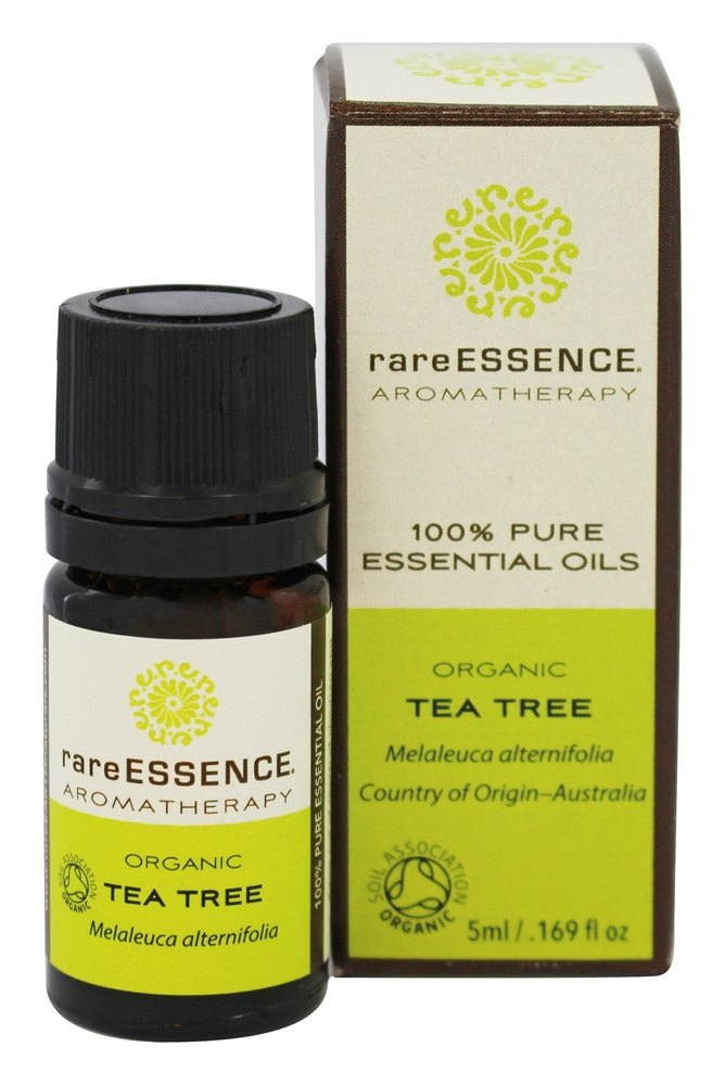 RareEssence - Aromatherapy 100% Pure Essential Oils Organic Tea Tree - 5 ml.