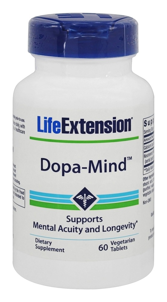 Life Extension - Dopa-Mind - 60 Vegetarian Tablets