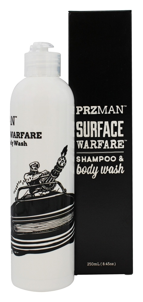 PRZMan - Surface Warfare Shampoo & Body Wash - 8.45 oz.
