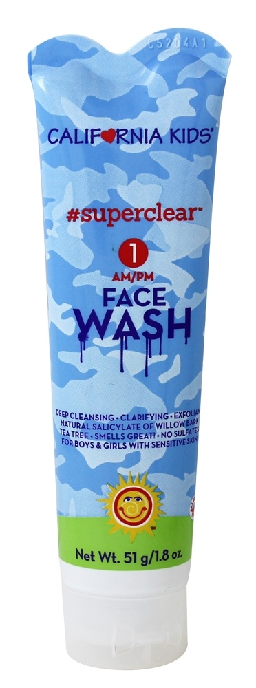 California Kids - Face Wash Superclear - 2.9 oz.