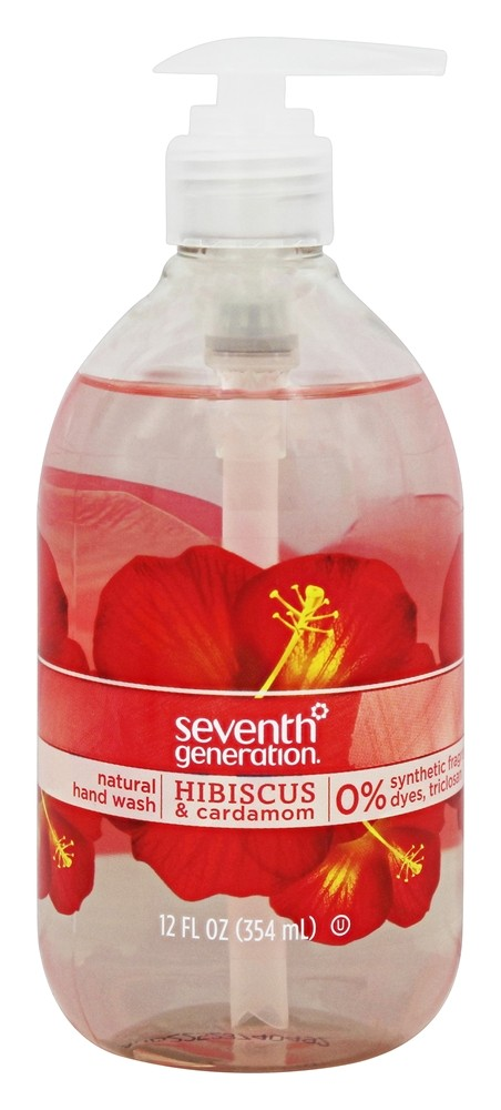 Seventh Generation - Natural Hand Wash Hibiscus & Cardamom - 12 oz.