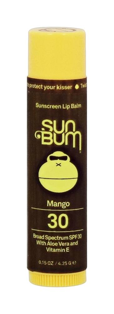 Sun Bum - Sunscreen Lip Balm Mango 30 SPF - 0.15 oz.