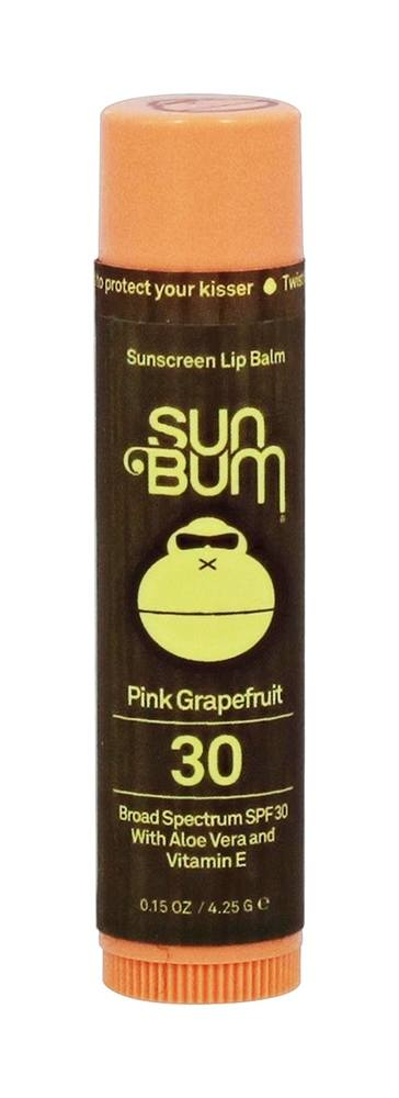 Sun Bum - Sunscreen Lip Balm Pink Grapefruit 30 SPF - 0.15 oz.
