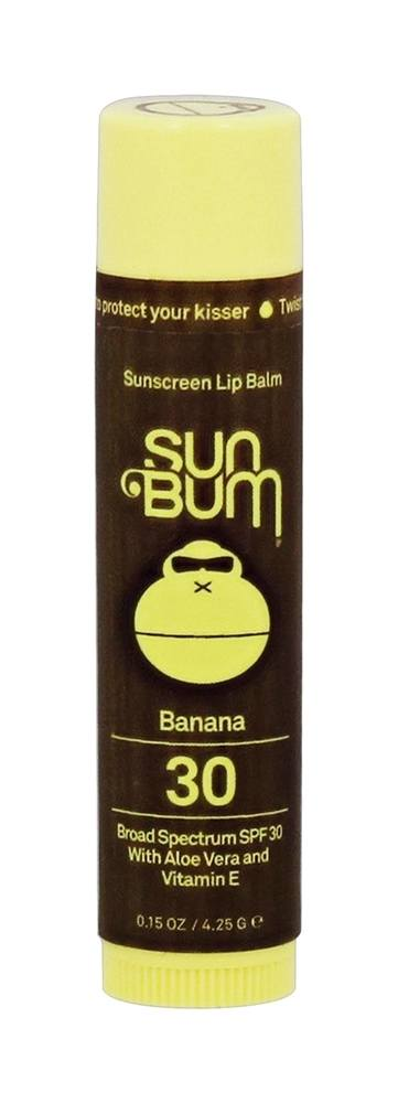 Sun Bum - Sunscreen Lip Balm Banana 30 SPF - 0.15 oz.