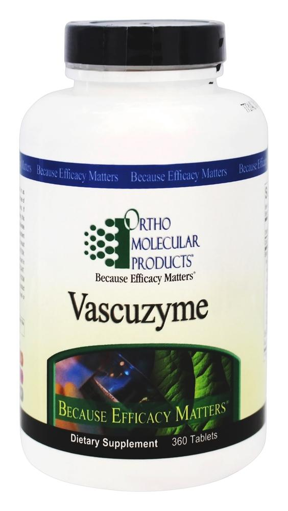 Ortho Molecular Products - Vascuzyme - 360 Tablets