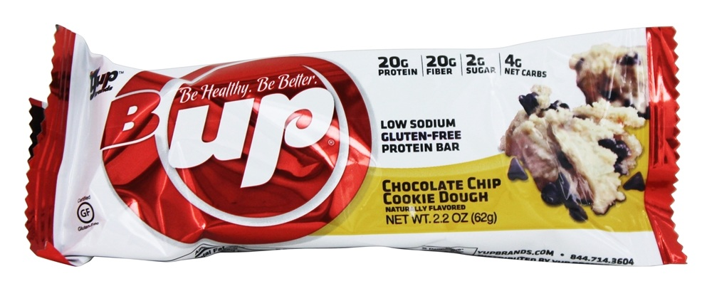 B-Up - Protein Bar Chocolate Chip Cookie Dough - 2.2 oz.