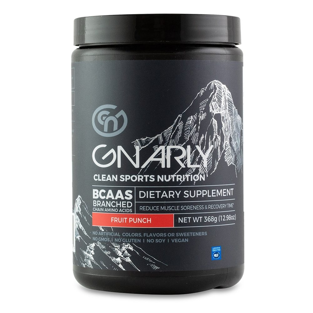Gnarly Nutrition - BCAAs Fruit Punch - 390 Grams