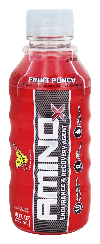 BSN - Amino X RTD Endurance & Recovery Agent Fruit Punch - 18 oz.