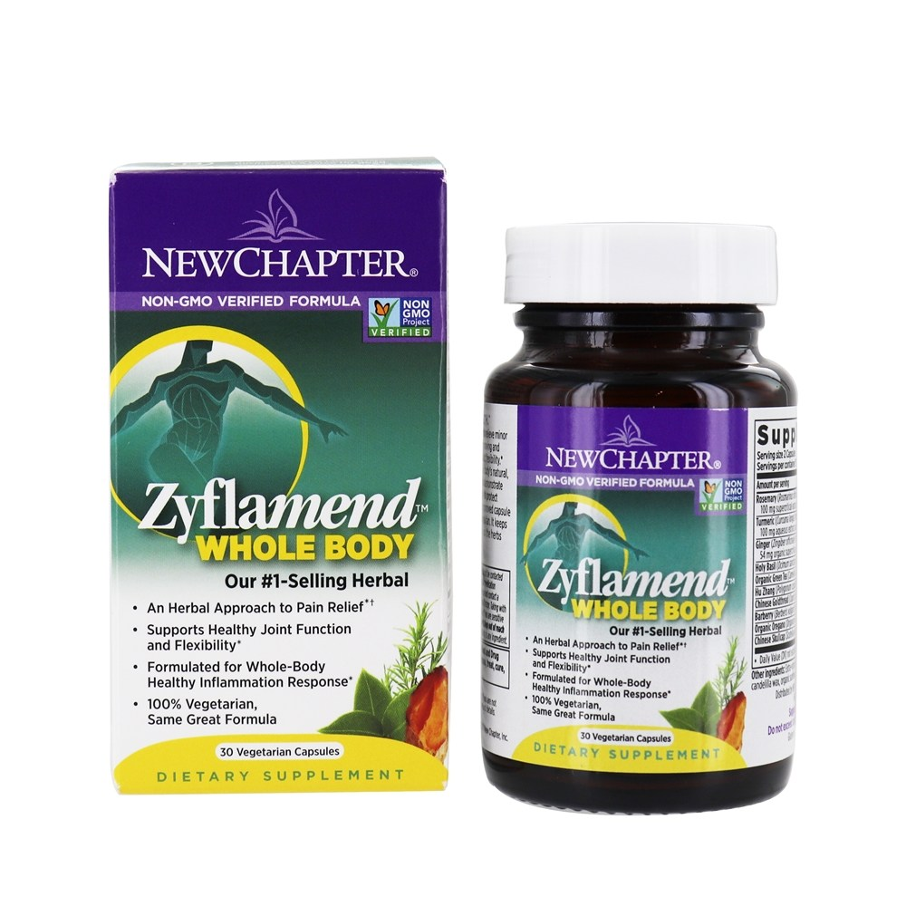 New Chapter - Zyflamend Whole Body - 30 Vegetarian Capsules