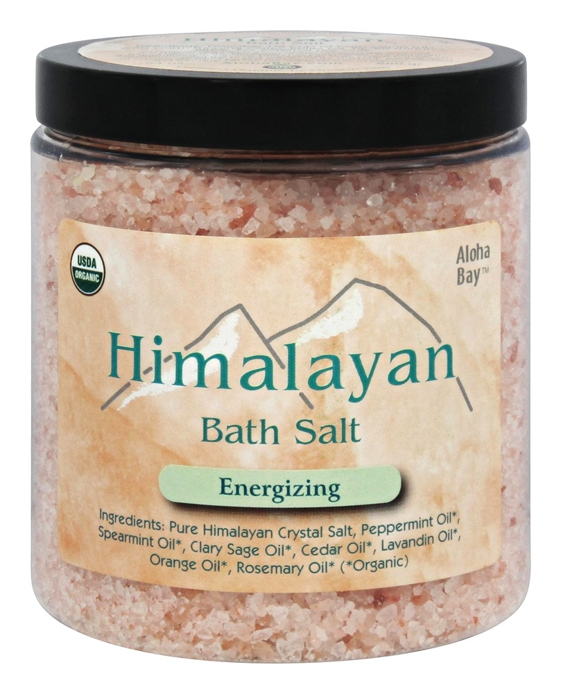 Aloha Bay - Organic Himalayan Bath Salt Energizing - 24 oz.