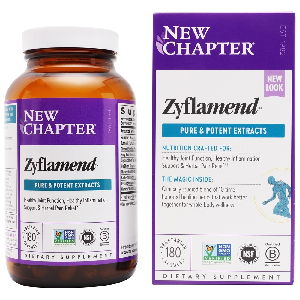 New Chapter - Zyflamend Whole Body - 180 Vegetarian Capsules