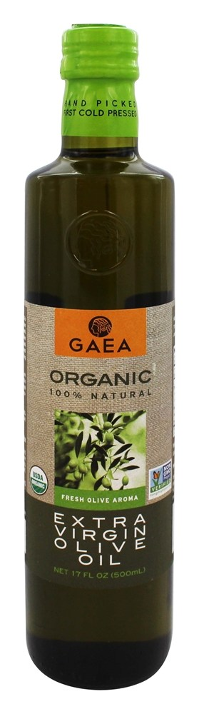 Gaea - Organic Extra Virgin Olive Oil - 17 oz.