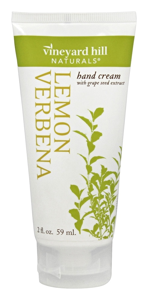 Vineyard Hill Naturals - Hand Cream with Grape Seed Extract Lemon Verbena - 2 oz.