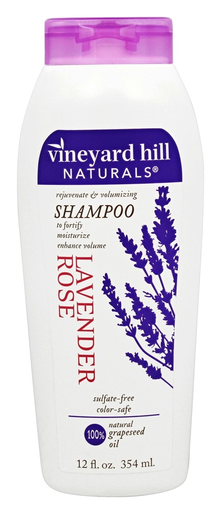 Vineyard Hill Naturals - Shampoo Lavender Rose - 12 oz.