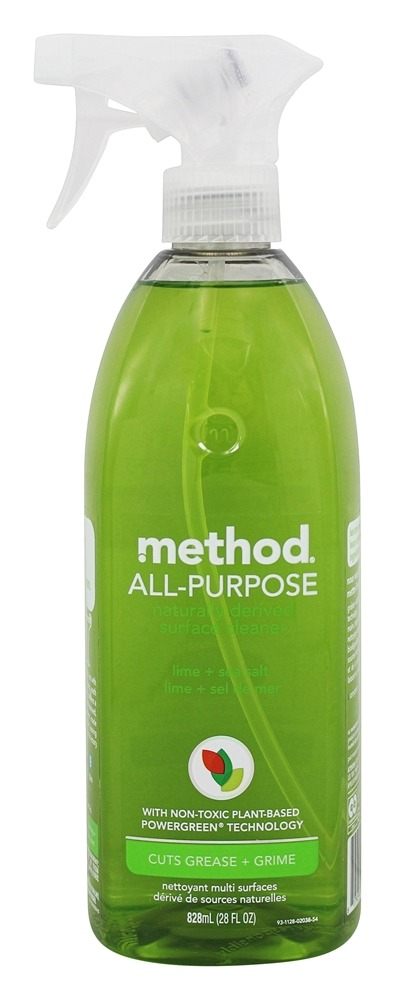 Method - All-Purpose Surface Naturally Derived Cleaner Lime + Sea Salt - 28 oz.
