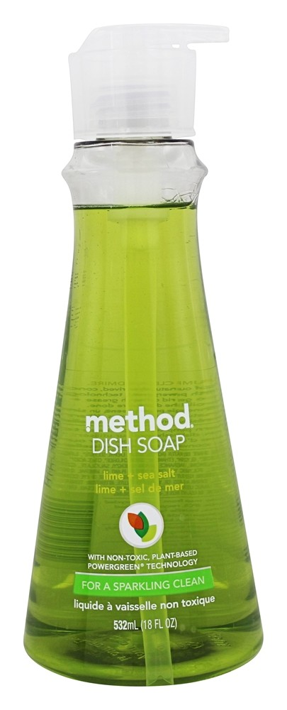 Method - Dish Soap Lime + Sea Salt - 18 oz.