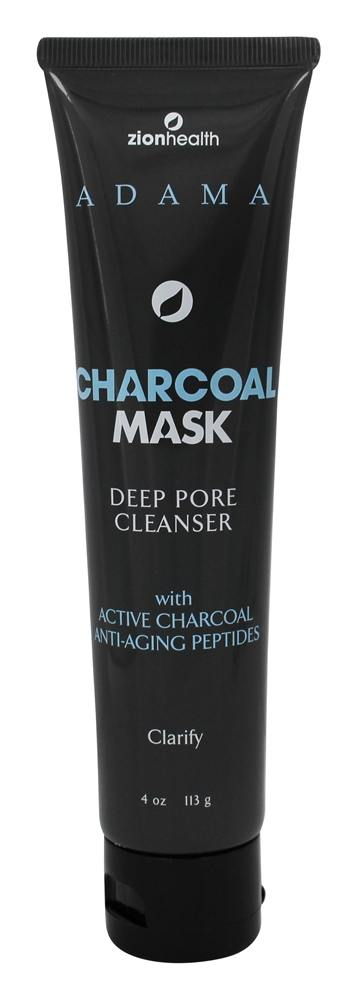 Zion Health - Adama Face Mask Charcoal - 4 oz.
