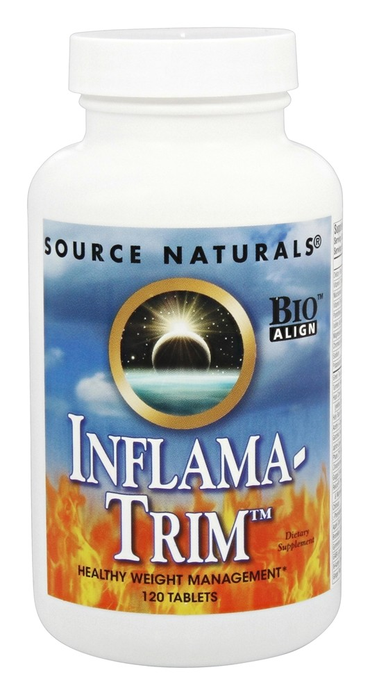Source Naturals - Inflama-Trim Healthy Weight Management - 120 Tablets