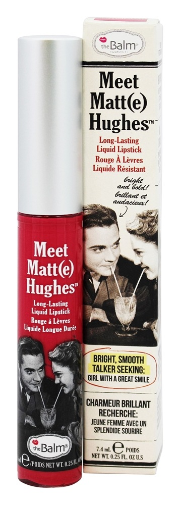 theBalm - Meet Matte(e) Hughes Long Lasting Liquid Lipstick Sentimental - 0.25 oz.