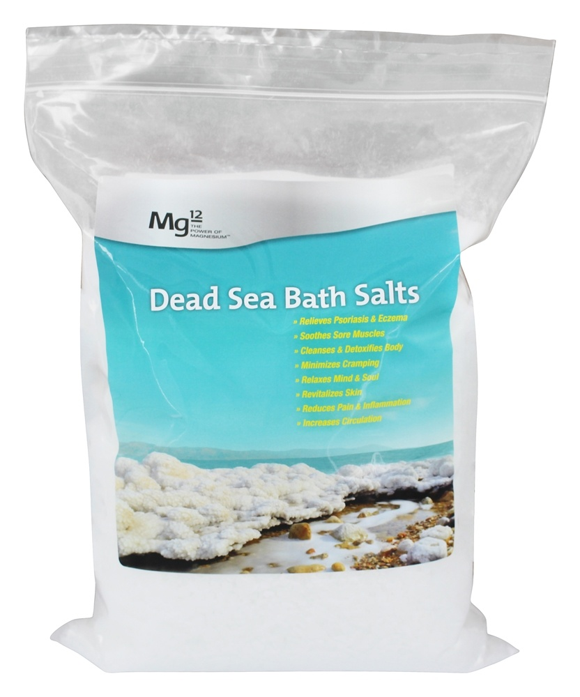 Mg12 - Dead Sea Bath Salts - 5.5 lbs.