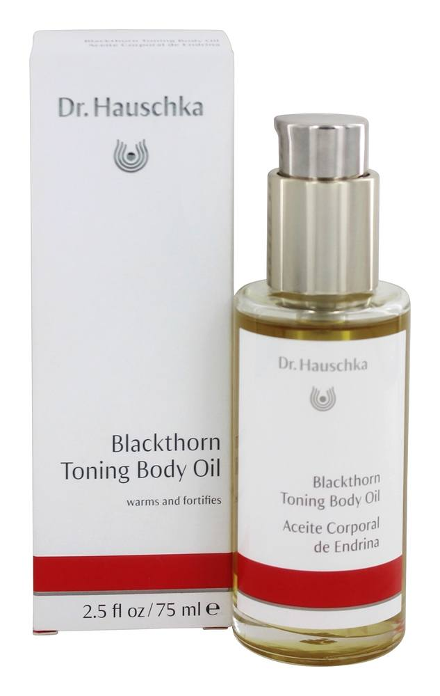 Dr. Hauschka - Blackthorn Toning Body Oil - 2.5 oz.