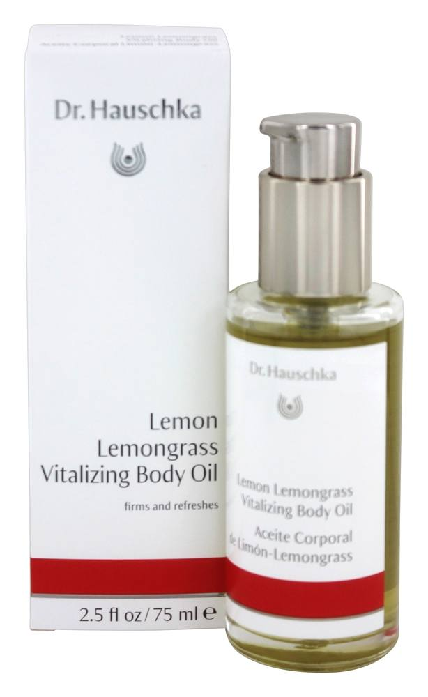 Dr. Hauschka - Vitalizing Body Oil Lemon Lemongrass - 2.5 oz.