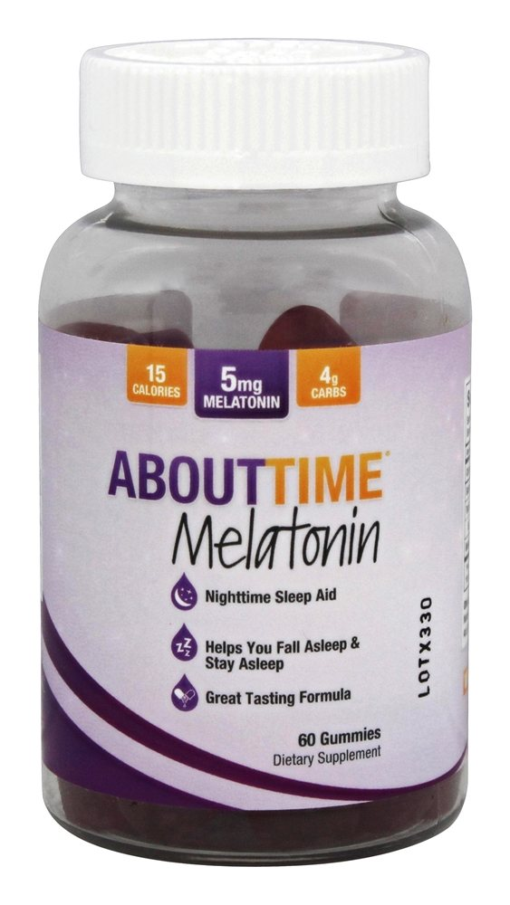 About Time - Melatonin Gummies - 60 Gummies