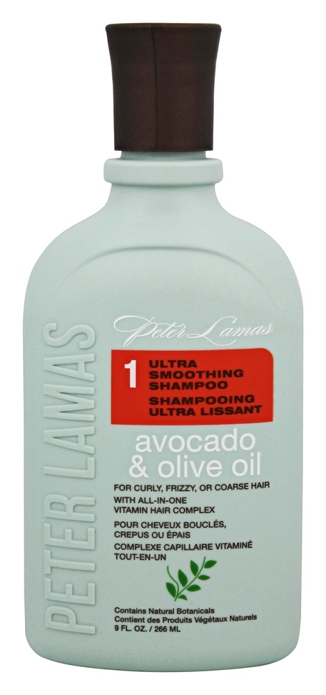 Peter Lamas - Avocado and Olive Oil Ultra Smoothing Shampoo - 9 oz.
