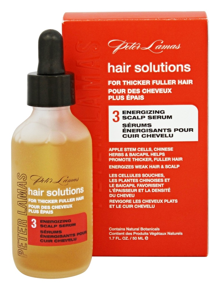 Peter Lamas - Hair Solutions Energizing Scalp Serum (Step 3) - 1.7 oz. Formerly Chinese Herbs Regenerating Scalp Serum