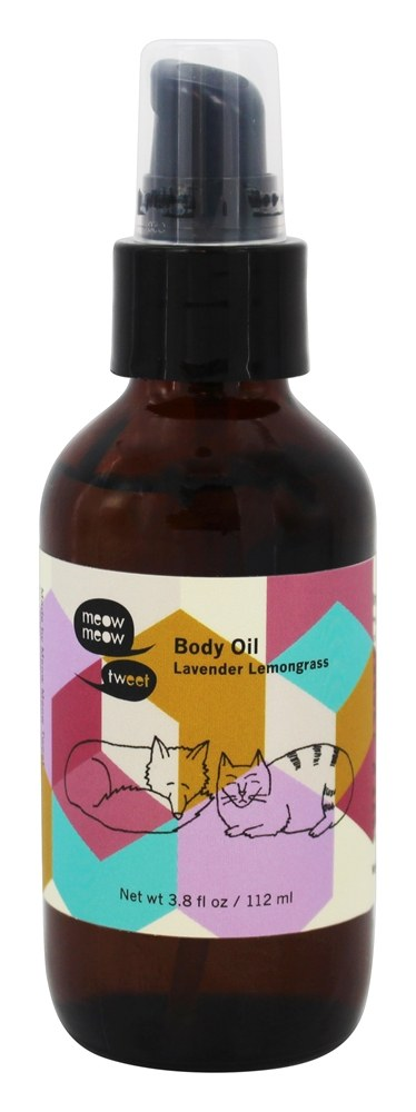 Meow Meow Tweet - Body Oil Lavender Lemongrass - 3.8 oz.