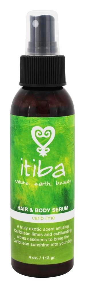 Itiba - Hair & Body Serum Carib Lime - 4 oz.
