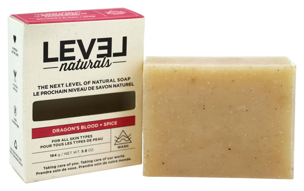 Level Naturals - Bar Soap Dragon's Blood + Spice - 5.8 oz.
