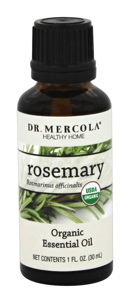 Dr. Mercola Premium Products - Organic Rosemary Essential Oil - 1 oz.