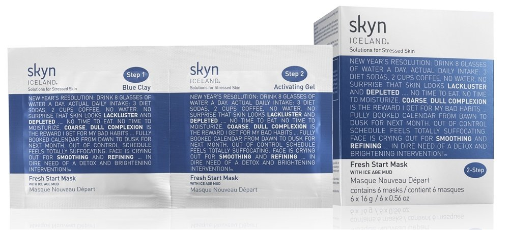 Skyn Iceland - Fresh Start Mask - 6 Count